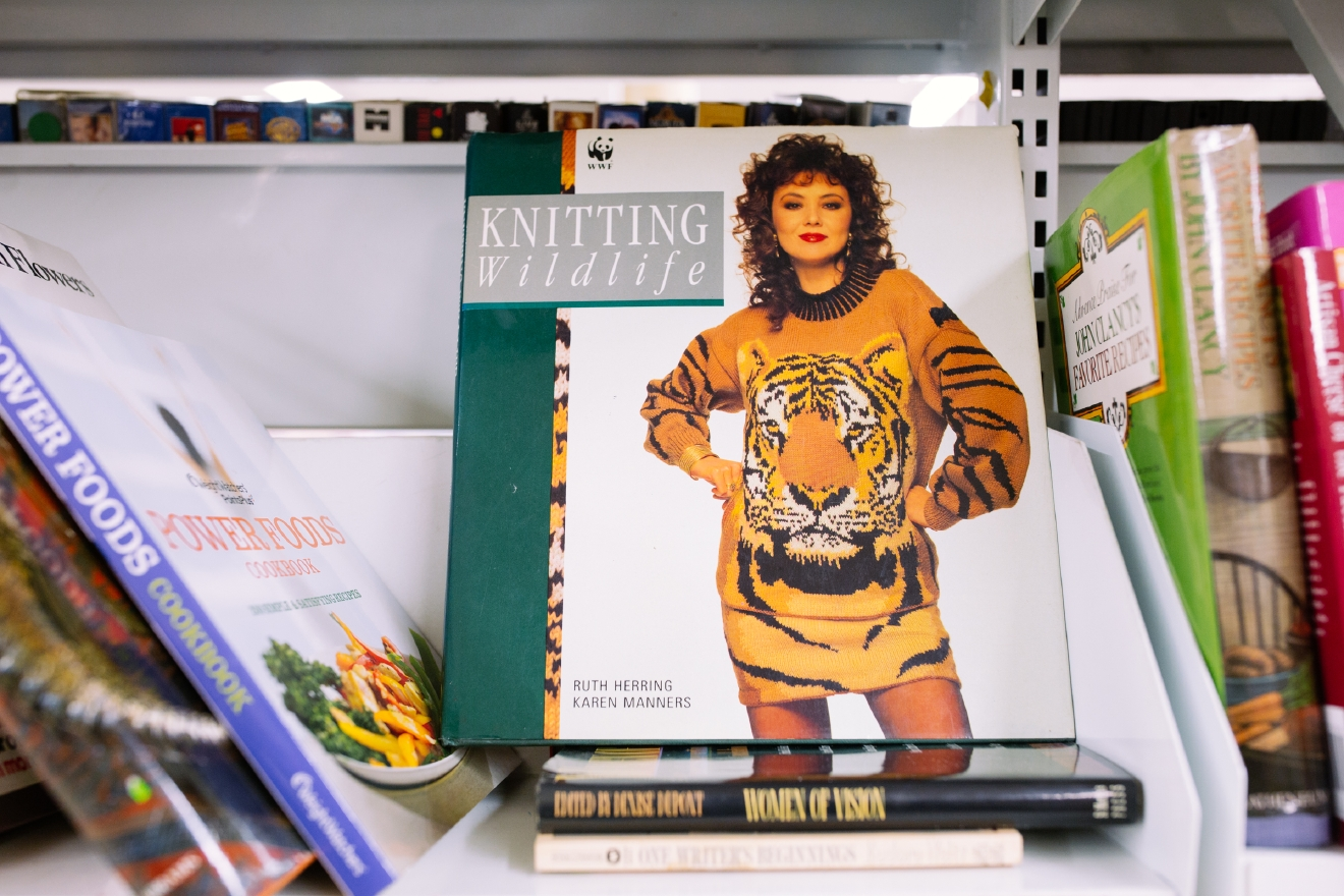 Niche craft book. $2.99  Are you going to a White Elephant Gift Exchange this year? We headed to our local Value Village to give you some gift ideas and how much they cost. (Image: Joshua Lewis / Seattle Refined)