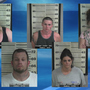Search warrant leads to meth bust, five arrests in Cullman Co.