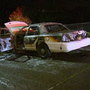 After car torched, State Patrol presses on to find hit-and-run driver