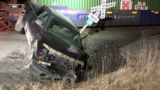 Driver arrested for DUI after truck collides with train
