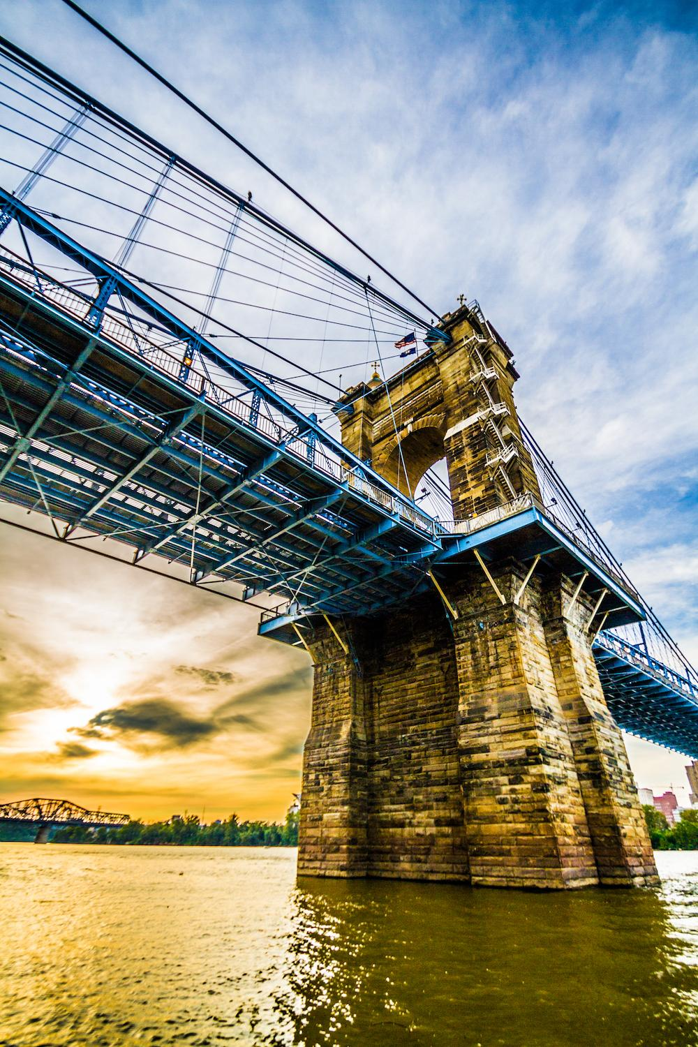 Sunset on the Roebling Bridge / Image: Amy Elisabeth Spasoff / Published: 12.19.16
