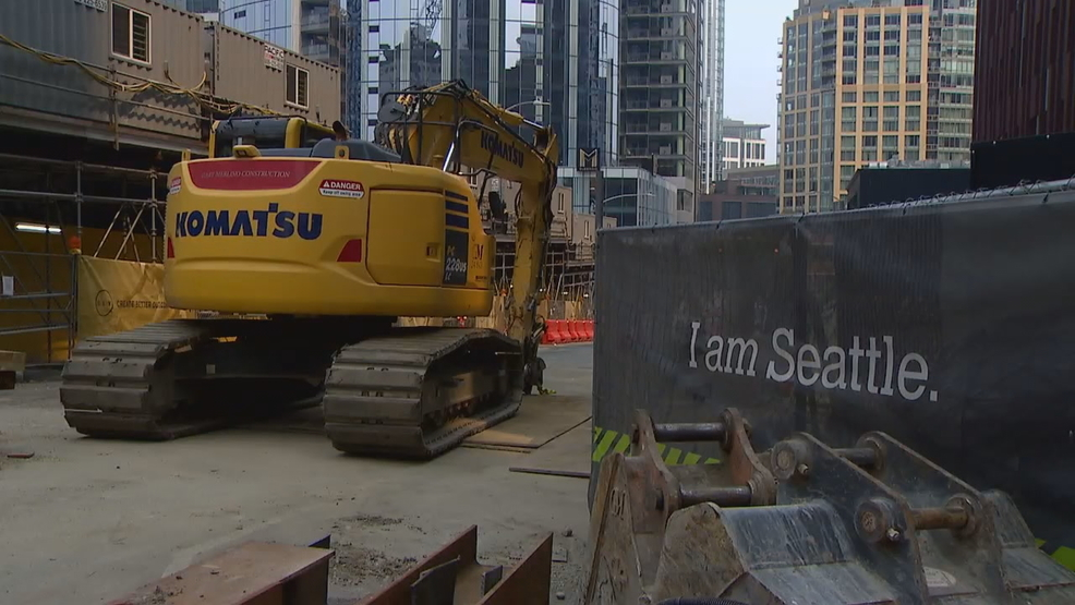 Strike Halts Work At Some Of Seattles Largest Construction Sites Komo