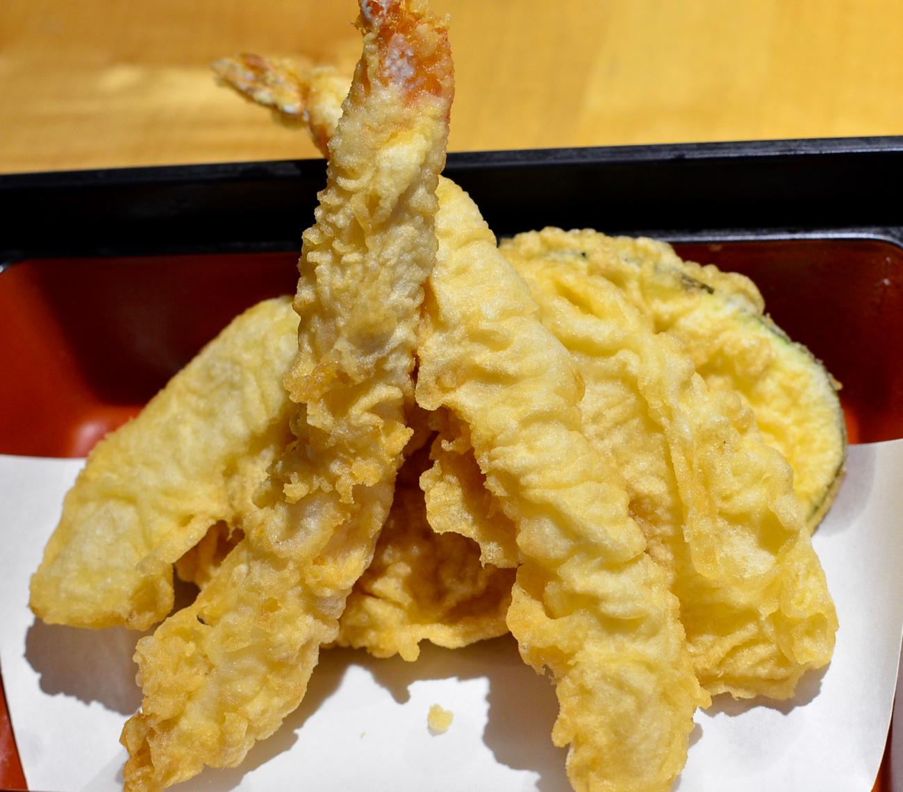 Shrimp and vegetable tempura / Image: Leah Zipperstein, Cincinnati Refined // Published: 10.15.17
