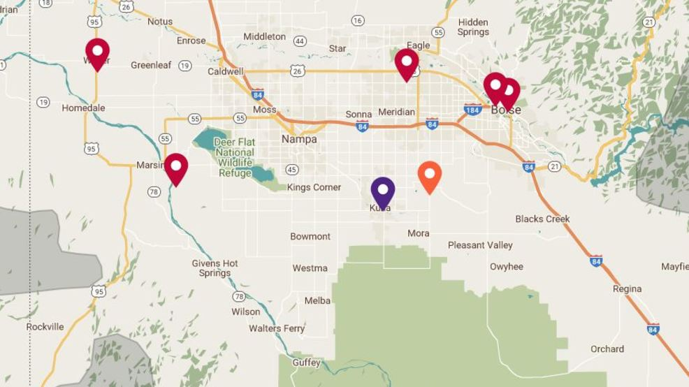 Thousands of people without power reported across the Treasure Valley