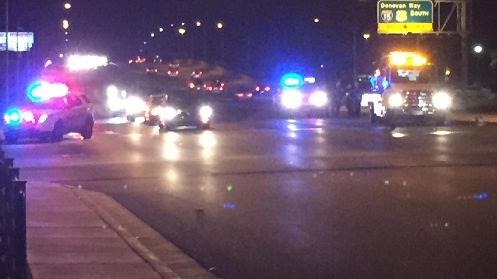 North Las Vegas Police officer involved in crash near Craig and Losee ...