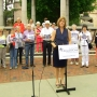 Mayor Manheimer, citizens call on NC lawmakers to end gerrymandering