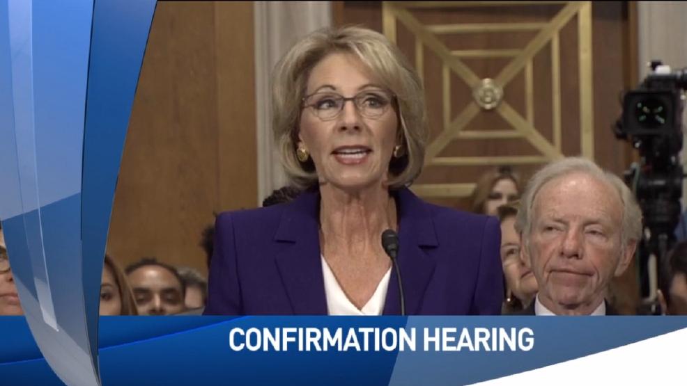 Betsy DeVos confirmation hearing underway | WWMT