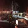 Family of 5 wake to house on fire in Wilton