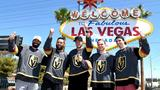 GALLERY | Vegas Golden Knights players visit Welcome to Fabulous Las Vegas sign
