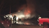 Fire destroys pole barn/garage in Kalamazoo County