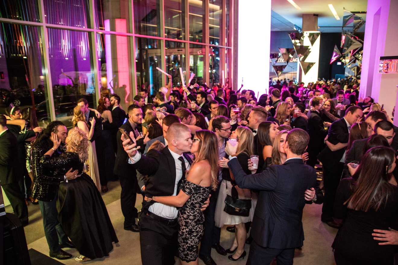 "Next Level Marketing Group hosted ""Night At The Museum,"" a New Year's Eve party at the Contemporary Arts Center, on Saturday, Dec. 31. / Image: Catherine Viox"