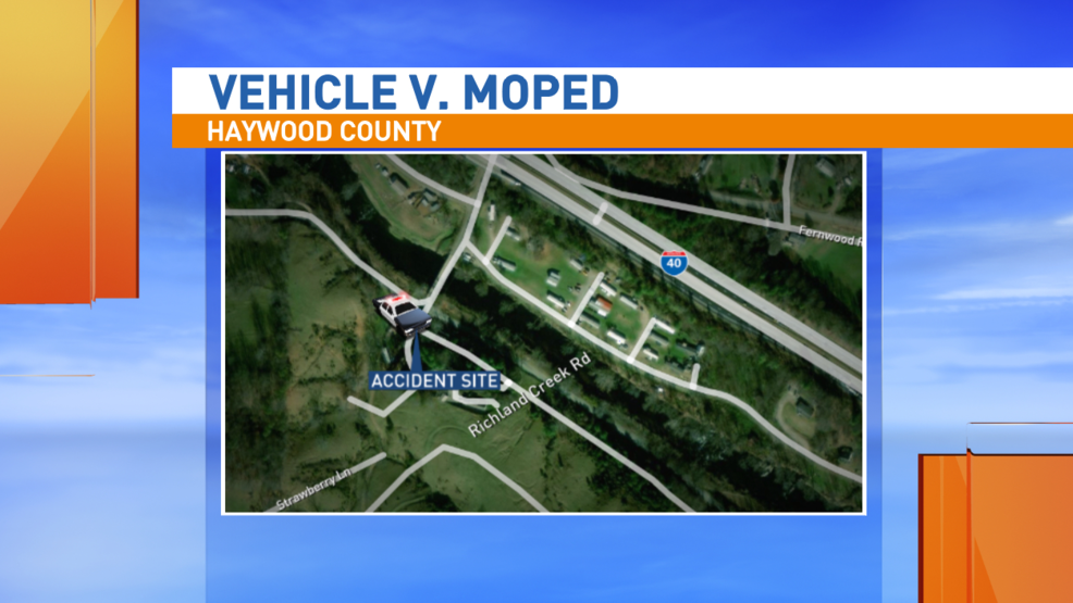2 injured in moped wreck in Haywood County | WLOS