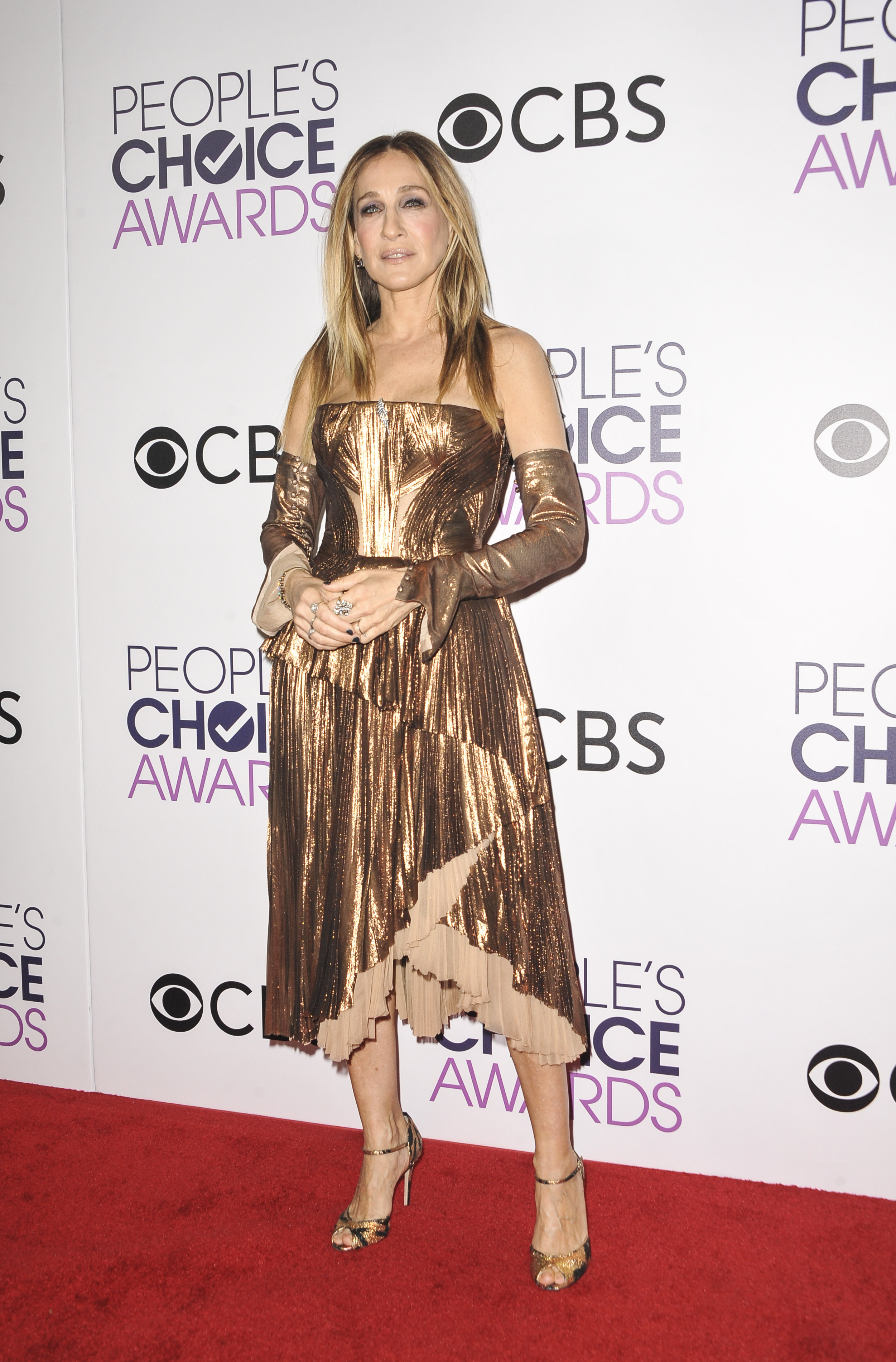 2017 People's Choice Awards, held at the Microsoft Theatre - Press Room                                    Featuring: Sarah Jessica Parker                  Where: Los Angeles, California, United States                  When: 19 Jan 2017                  Credit: Apega/WENN.com