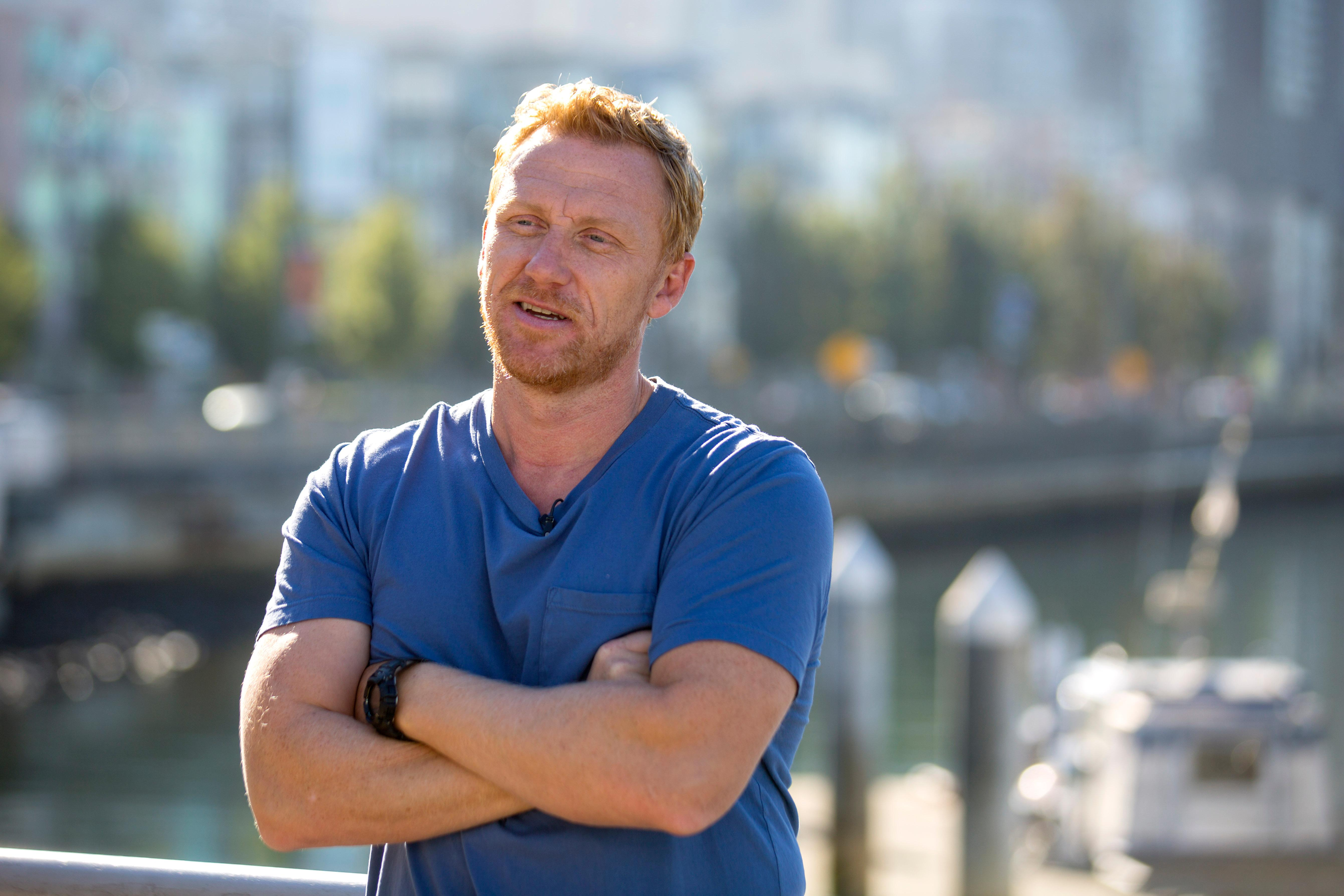 Kevin McKidd, who plays Dr. Owen Hunt on Grey's Anatomy. (Sy Bean / Seattle Refined)