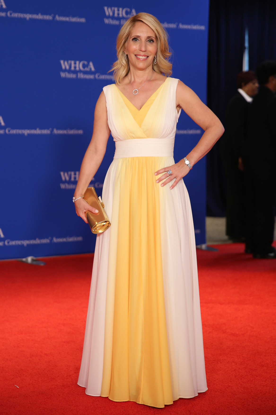 Dana Bash looks like a ray of sunshine in the best way.{ }(Amanda Andrade-Rhoades/DC Refined)