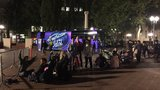 Hopefuls wait in line hours before American Idol auditions begin in Portland