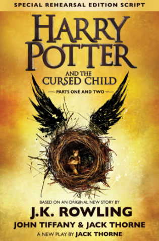 Harry Potter and the Cursed Child ($14+). Find on amazon.com. (Source: Amazon.com)