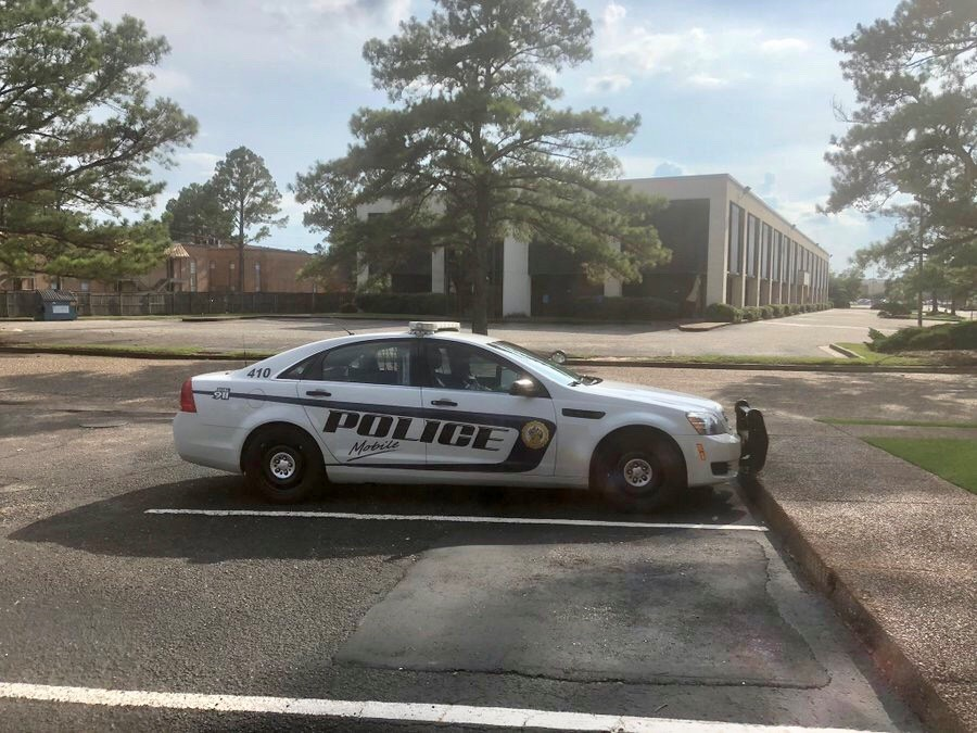 (img: WPMI) Shots fired at Mobile media building