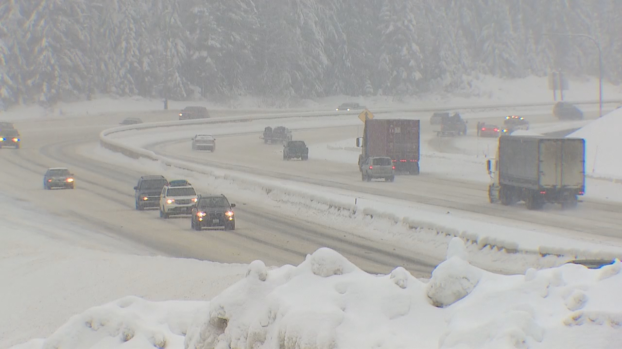 New bridges on Snoqualmie Pass are designed to let avalanches flower underneath them. That ought to mean fewer pass closures this winter. (Photo: KOMO News)