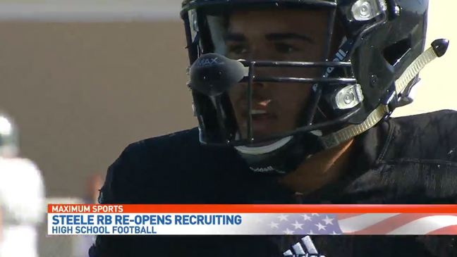 Steele RB Brady reopens recruiting process