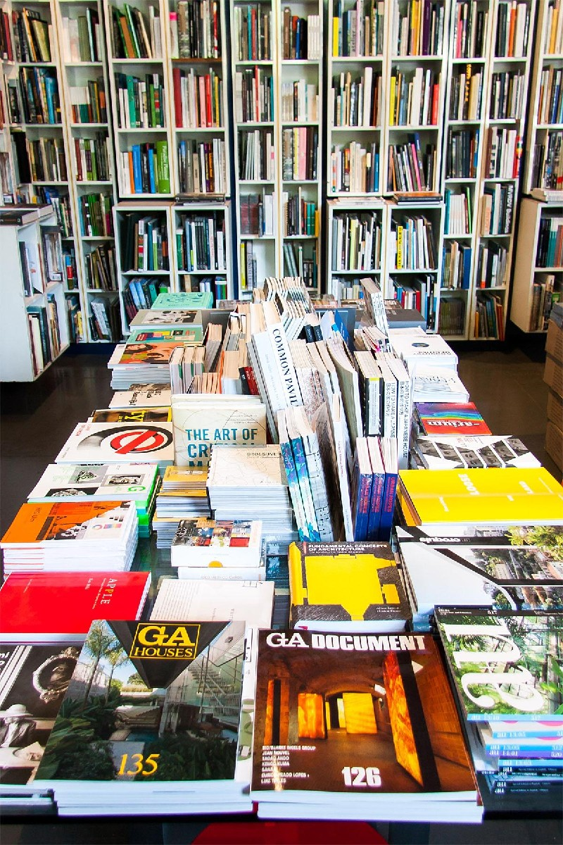 Peter chooses all of the books and periodicals that line the store's shelves. There is so much inspiration there. (Image: Melanie Biehle/Seattle Refined)