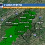 Heavy rain expected Monday; Flood Watch issued