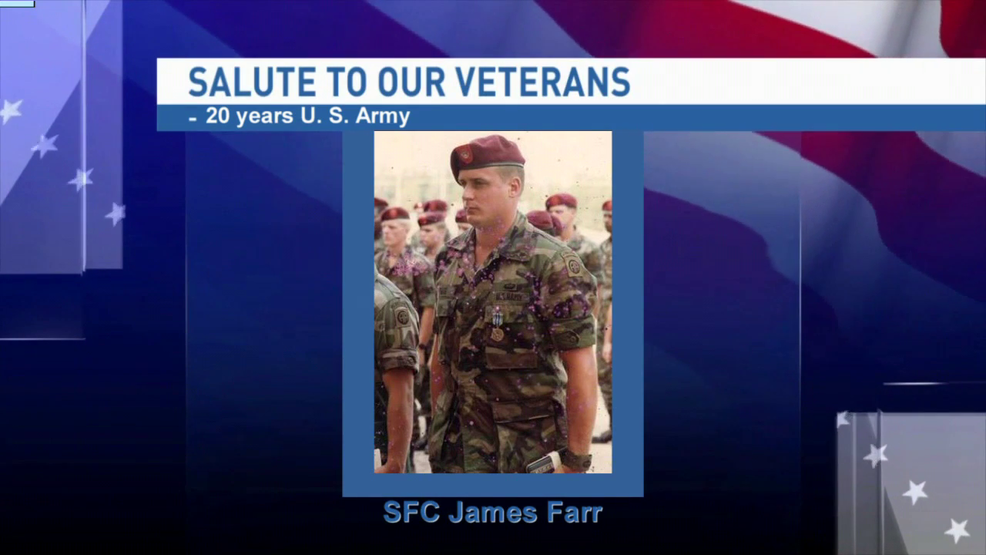 Salute to our veterans: Sergeant First Class James Farr | WPMI