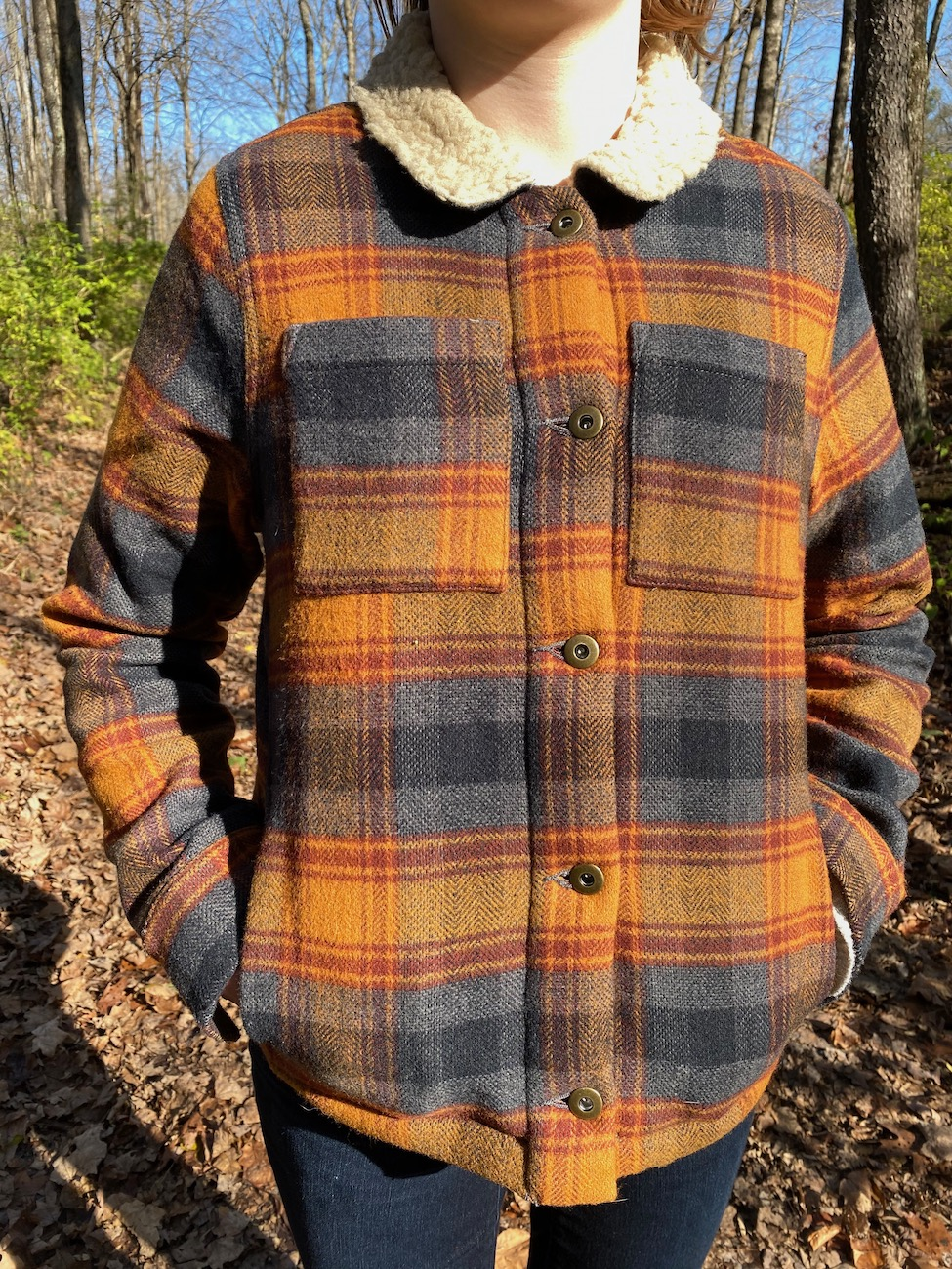 "<p>Toad & Co.'s Burntside Trucker Jacket boasts a blended ombre plaid with recycled wool and polyester sherpa fleece lining. It fits like a classic denim jacket, but is a lot toastier and is moisture-wicking and wrinkle resistant. /{&nbsp;}<a  href=""https://www.toadandco.com/"" target=""_blank"" title=""https://www.toadandco.com/"">Website{&nbsp;}</a>/ Price: $180 / Image: Chez Chesak // Published: 12.6.20</p>"
