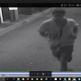 Home invader chased out by residents caught on tape