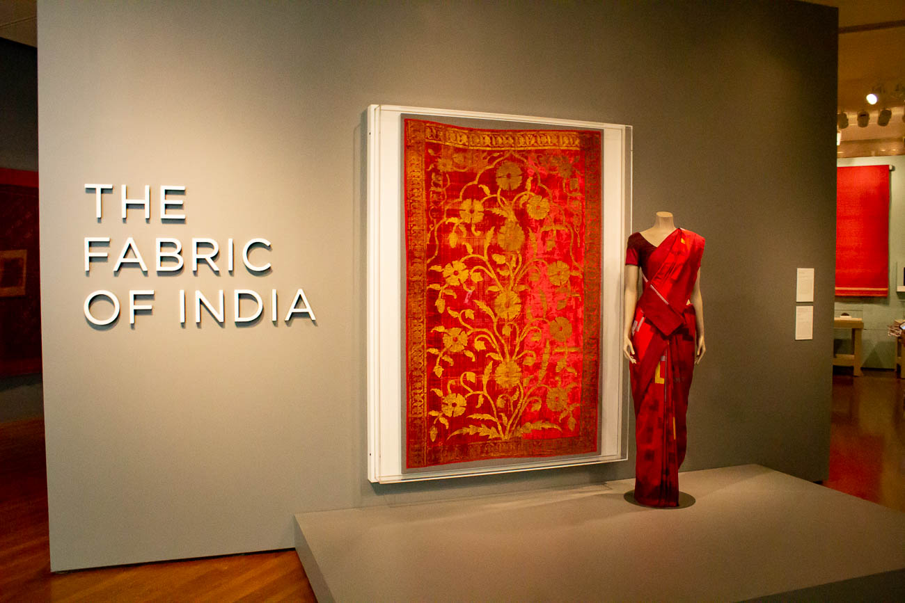 The Fabric of India exhibition at the Cincinnati Art Museum showcases the incredible, detailed tapestries that have made up fashion in India for centuries. More than 170 handmade objects are featured, with some pieces dating back to the 1400s. The thriving fashion industry of India in today's modern culture is depicted the exhibit. You have until January 6th to explore the collection and find your favorite piece. ADDRESS: 953 Eden Park Drive (45202) / Image: Katie Robinson, Cincinnati Refined // Published: 10.22.18