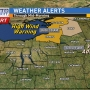Wind alerts remains in effect, winter weather advisories ended