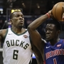 Pistons comeback comes up short in Milwaukee