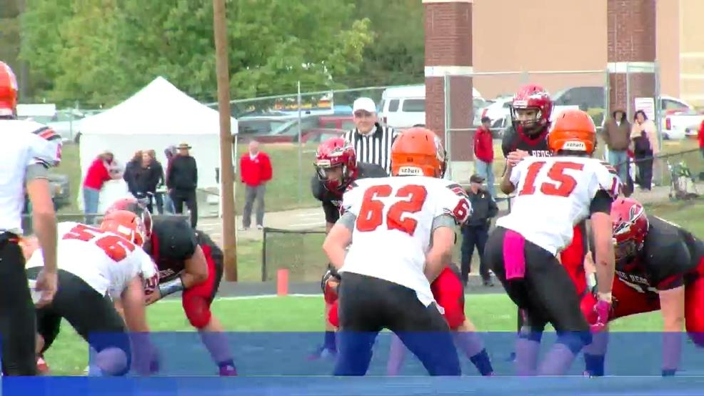 10.17.15 High School Football- Shadyside shuts out Bellaire 14-0