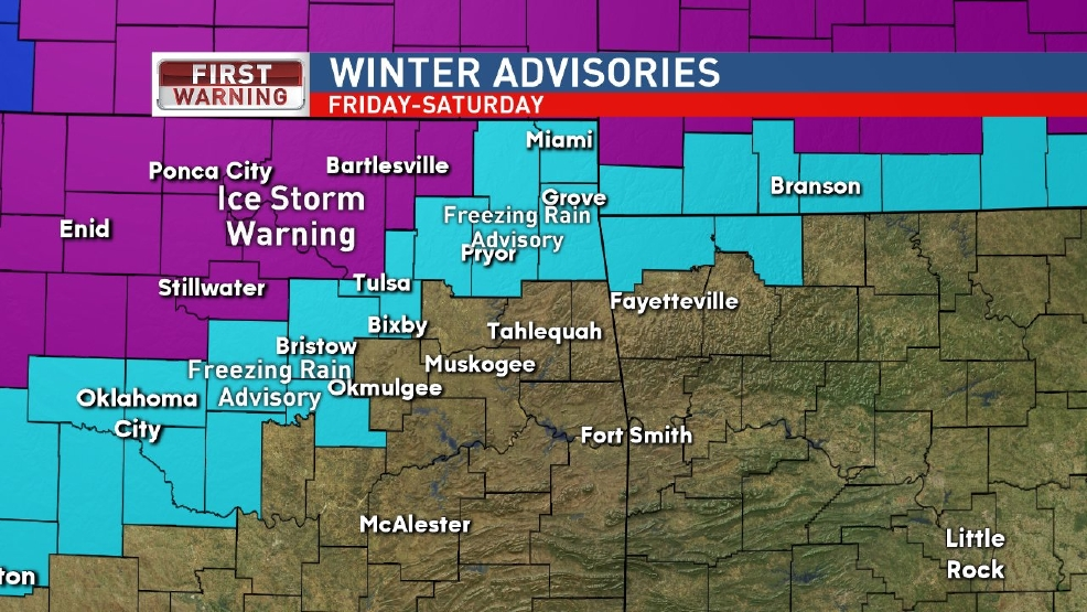 More ice on the way: Freezing Rain Advisory in effect through noon Saturday