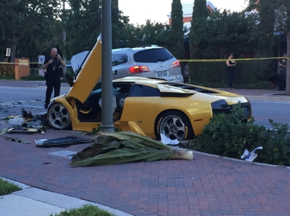 Man killed in Lamborghini street-racing crash in Florida was