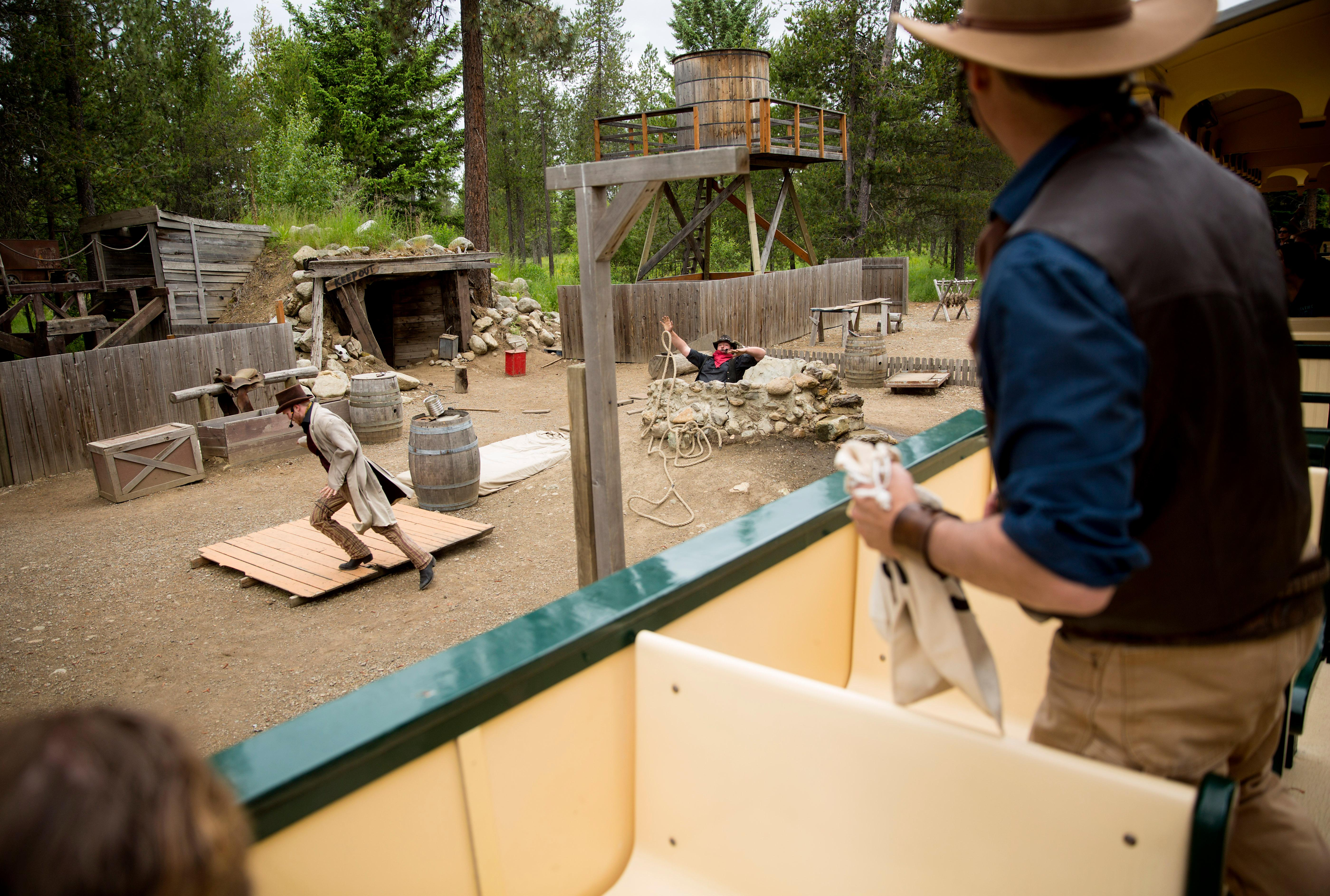 Most visits to Silverwood Theme Park are largely about the rides, but it's impossible to get whipped around, rolled over and ricocheted all day without wanting a little break. Stop by one of Silverwood's world-class shows to give your body a break and dazzle your mind with a little theme park magic. (Image: Sy Bean / Seattle Refined)