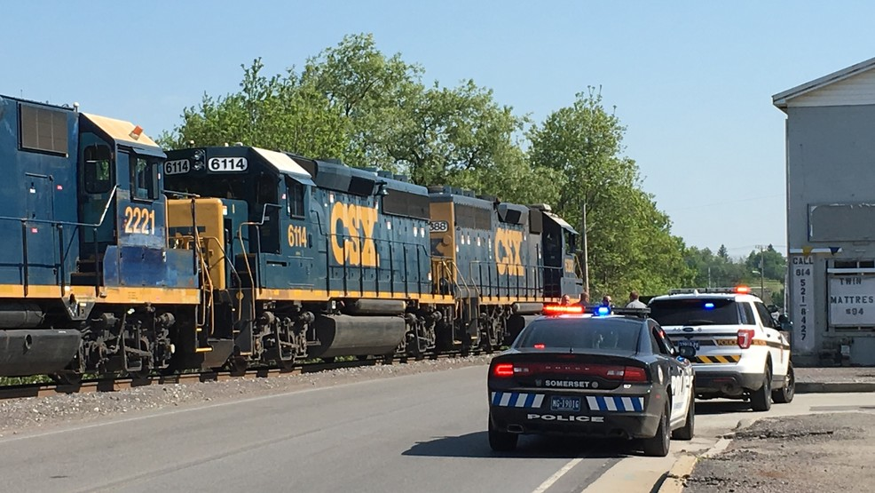 man struck by csx train in somerset wjac