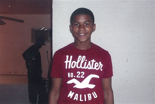 Family photo of Trayvon Martin via AP.<p></p>