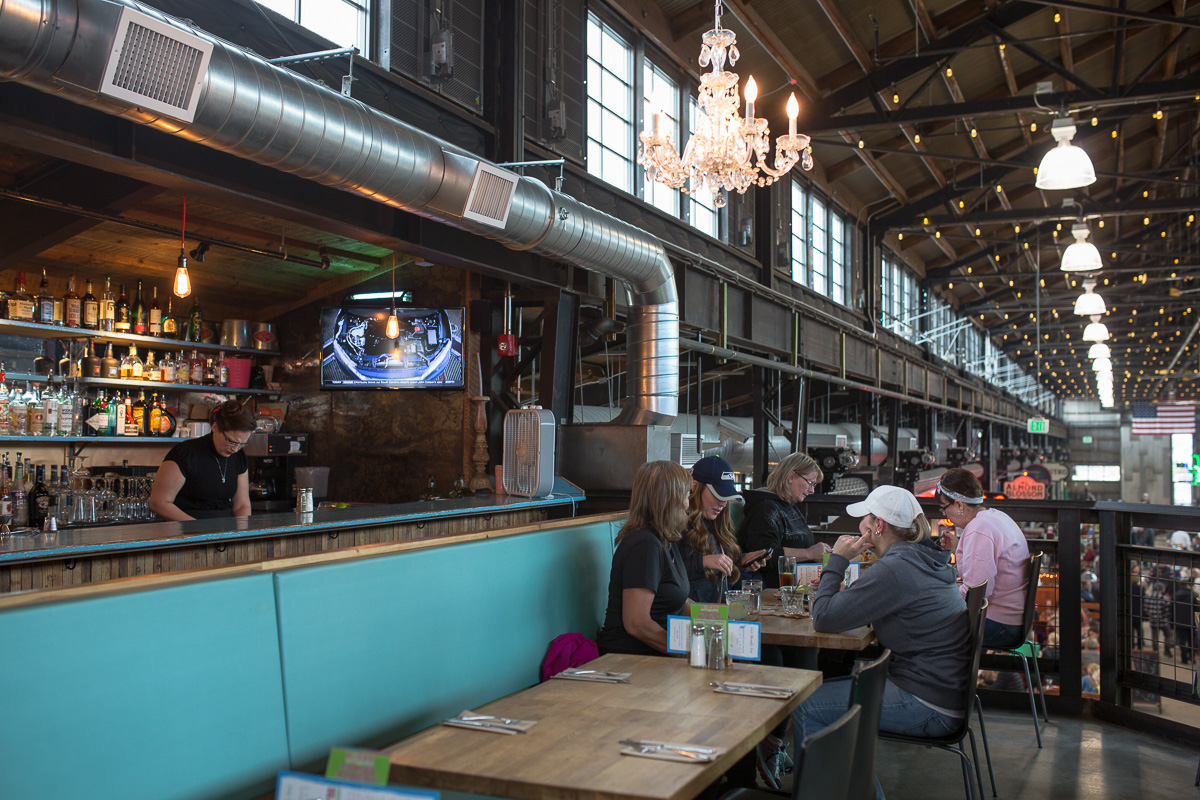 South at Pybus Market (Image: Paola Thomas / Seattle Refined)
