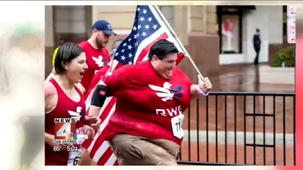 500 pound man prepares to run in San Antonio 5K   WOAI