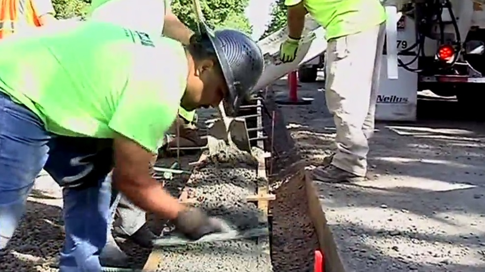 New Concrete Used On Jefferson Street Is Mixed To Last Longer