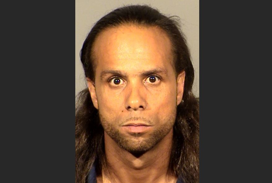 Lamarr Webb, 38, is suspected in an armed robbery at a Summerlin ATM. (LVMPD/KSNV)
