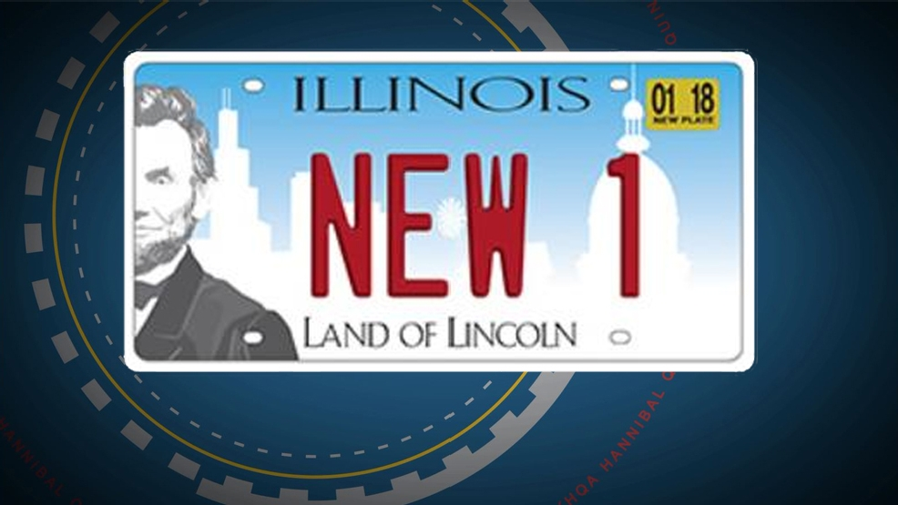 Illinois: License plate replacement program to begin in January | KHQA