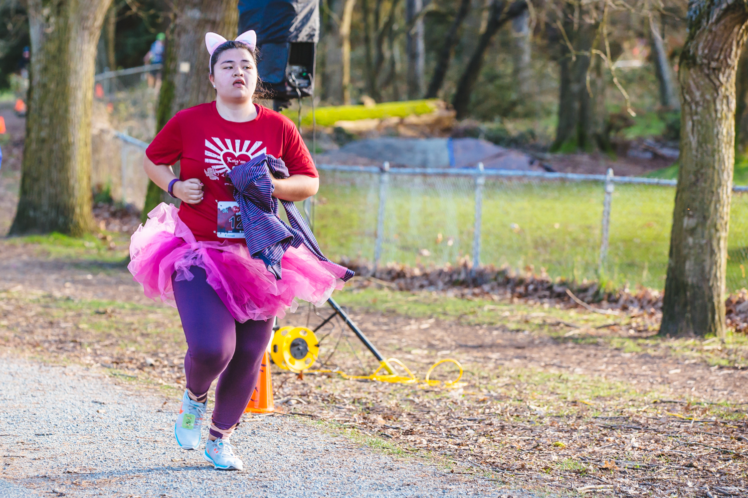 You've heard of STOP in the name of love, but how about RUN in the name of love? That's what these crazy locals got up early on a Sunday morning to do, participate in then annual Valentine's Day Dash at Greenlake park. Bright colors and mimosas were the name of this game, and runners finished up at a mini park with drink, food and an awards ceremony. (Image: Sunita Martini / Seattle Refined)