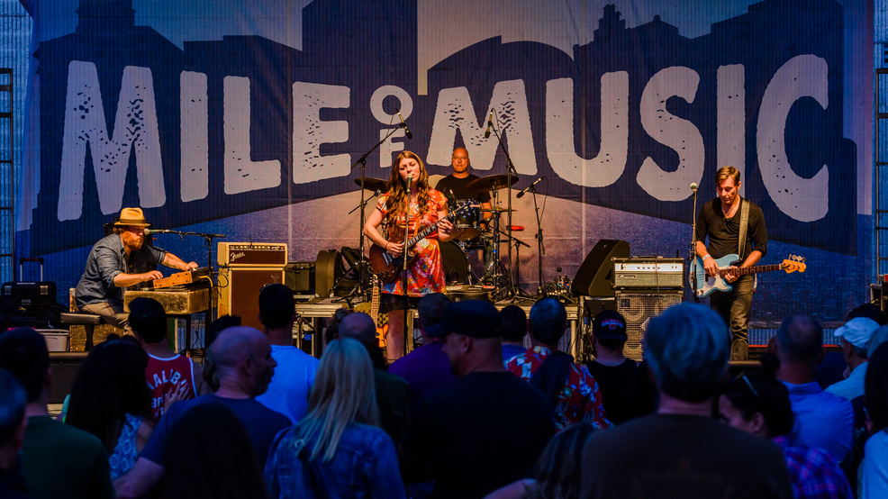 Terra Lightfoot at Mile of Music 5, August 2017, in Appleton.
