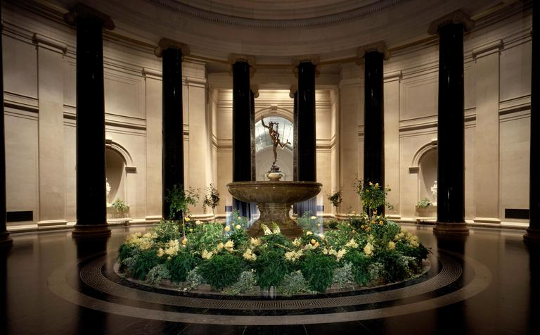 The National Gallery of Art is now the only place on the Mall serving bottomless weekend brunch in their Garden Cafe for $30 per person -- $40 if you add bottomless mimosas. (Image: Courtesy NGA)