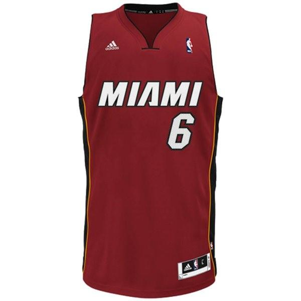 LeBron James of the Miami Heat again tops the NBA's list of top-selling jerseys.