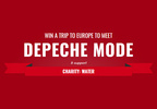 Win a Trip to Europe to Meet Depeche Mode!