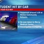 Student hit by car outside of Hinton Community Schools