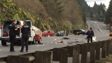 One dead, three hospitalized in Highway 30 crash